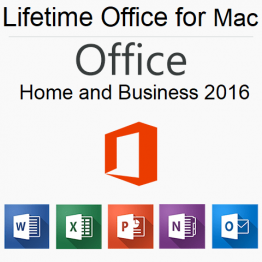 Office 2016 Home and Business For Mac Product license Key lifetime