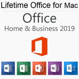 Office 2019 Home and Business for Mac Product Key for Lifetime