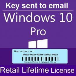 Windows 10 Professional lifetime Product Key