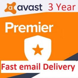 Avast Premier for 3 Year 1 PC User